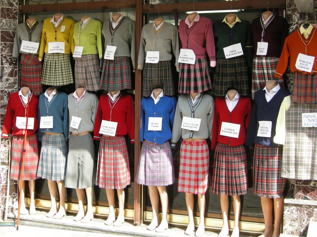 the benefits of having school uniforms